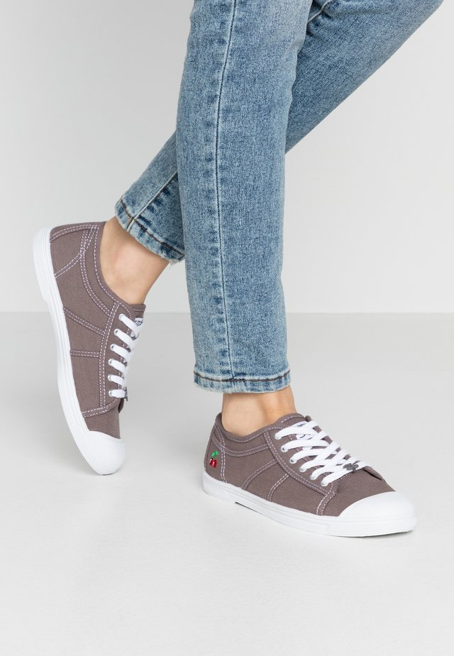 Sneakers laag - charcoal