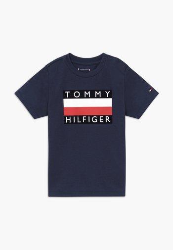 BABY FLAG  - Print T-shirt - blue