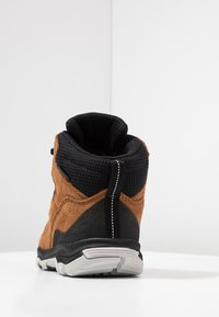 Jack Wolfskin - MTN ATTACK 3 TEXAPORE MID - Hiking shoes - desert brown/black - 4