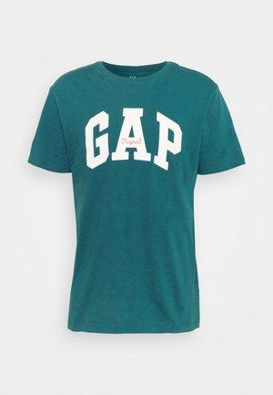 LOGO ARCH - T-shirt med print - teal