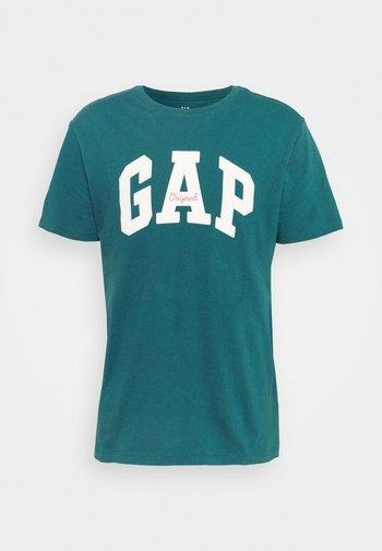 LOGO ARCH - Print T-shirt - teal