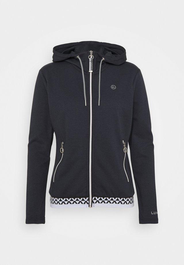 ALITALO - veste en sweat zippée - dark blue