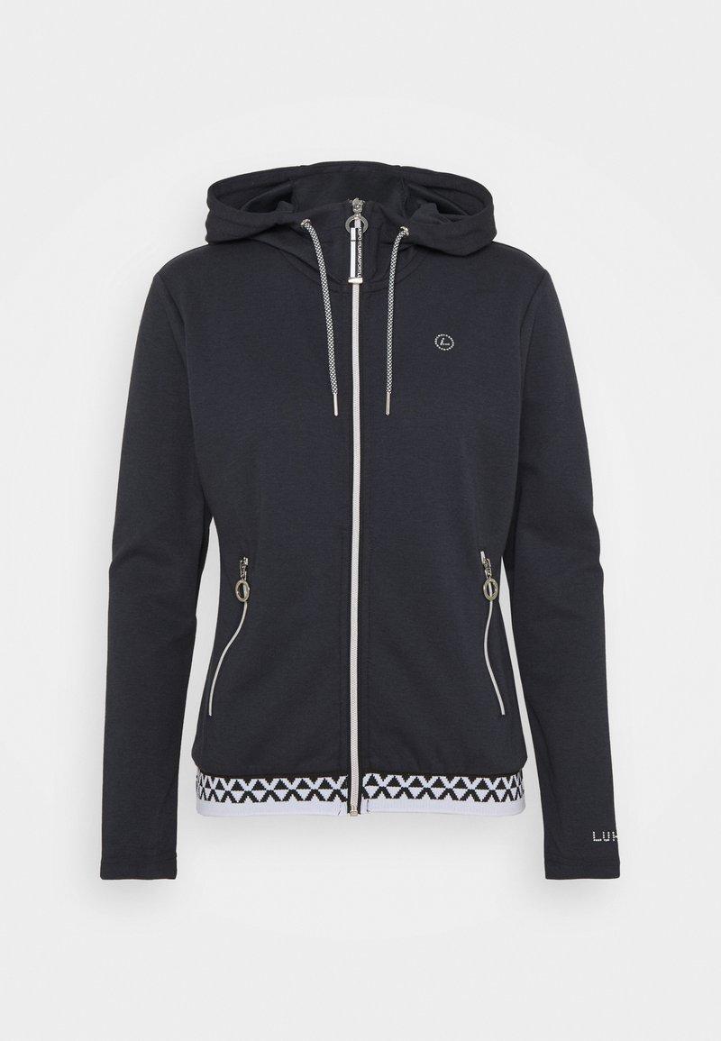 Luhta - ALITALO - Zip-up hoodie - dark blue