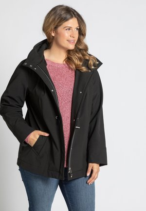 Soft shell jacket - noir