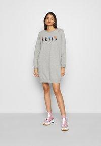 Levi's® - CREW DRESS - Day dress - mottled light grey - 1