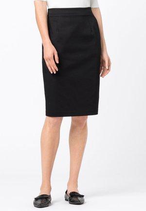 BASIC LETIZIA - Pencil skirt - schwarz