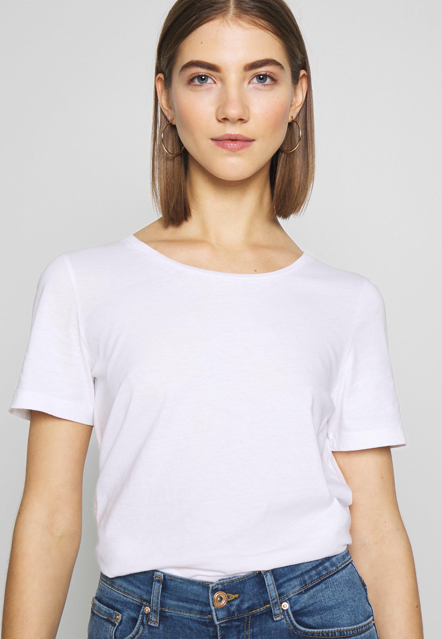 Vila Visus - T-shirts Optical Snow/hvit