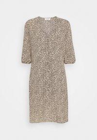 EMILY PRINT DRESS - Denní šaty - light brown