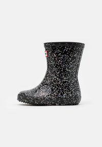 Hunter ORIGINAL - KIDS FIRST CLASSIC GIANT GLITTER - Holínky - black - 0