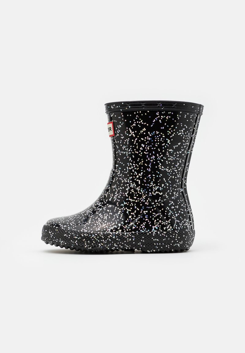 Hunter ORIGINAL - KIDS FIRST CLASSIC GIANT GLITTER - Holínky - black
