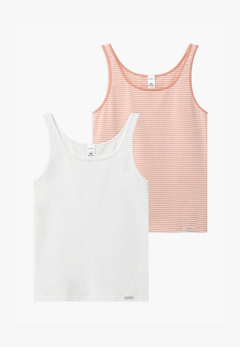 Skiny - GIRLS 2 PACK - Undershirt - rose