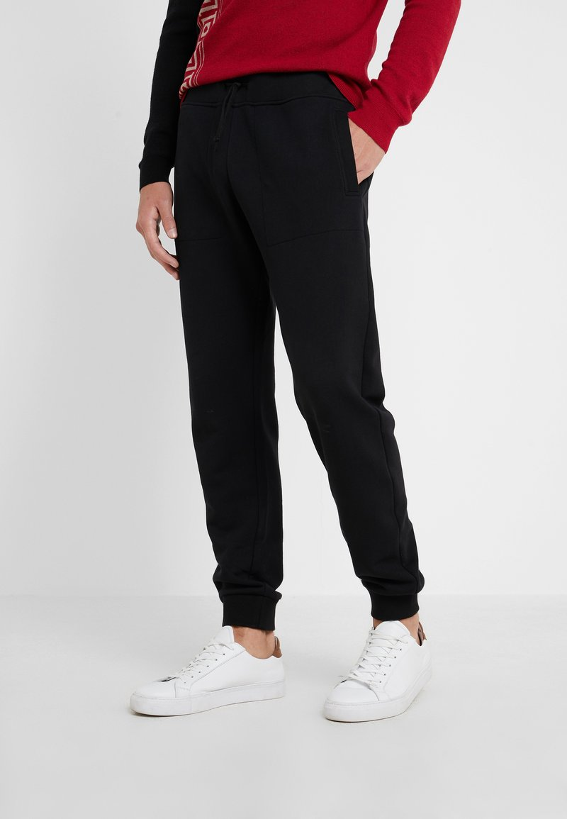 Versace Collection - SPORTIVO PANTALONE - Pantaloni sportivi - nero