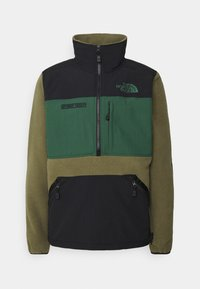 The North Face - STEEP TECH HALF UNISEX - Sweat polaire - burnt olive green/evergreen/black - 0