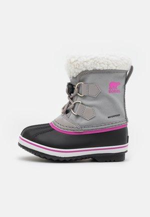 CHILDRENS YOOT PAC - Zimní obuv - chrome grey/black