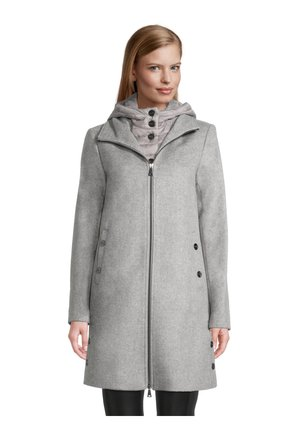 Winter coat - hellgrau