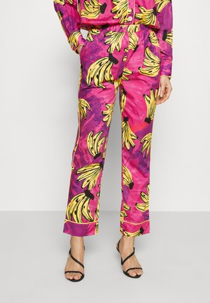 TIE DYE BANANAS PAJAMA PANTS - Trousers - multi