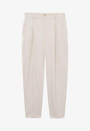 NATURE - Spodnie materiałowe - ecru