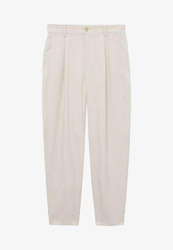 NATURE - Pantalon classique - ecru