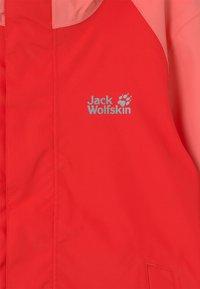 Jack Wolfskin - TUCAN UNISEX - Outdoor jacket - tulip red - 2
