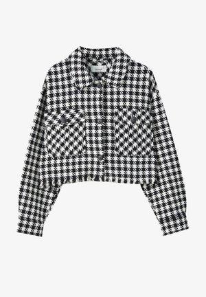 Summer jacket - mottled black