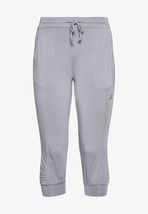 PANTS - 3/4 sports trousers - pearl grey
