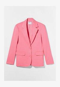 Bershka - Short coat - pink - 4