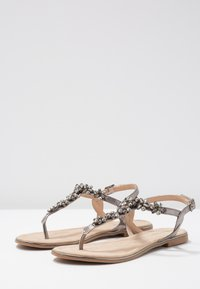 Anna Field - T-bar sandals - gunmetall - 4