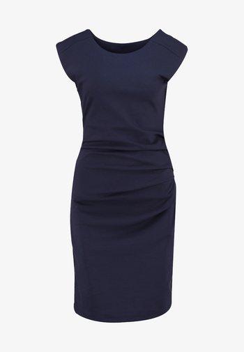INDIA O NECK - Shift dress - midnight marine