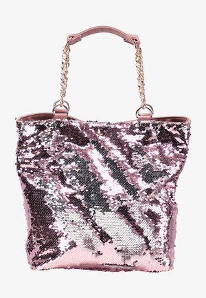 Shopping bag - pink/silver
