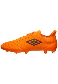 Umbro - UX ACCURO III PRO FG FUSSBALLSCHUH HERREN - Moulded stud football boots - orange / grey reflective - 0