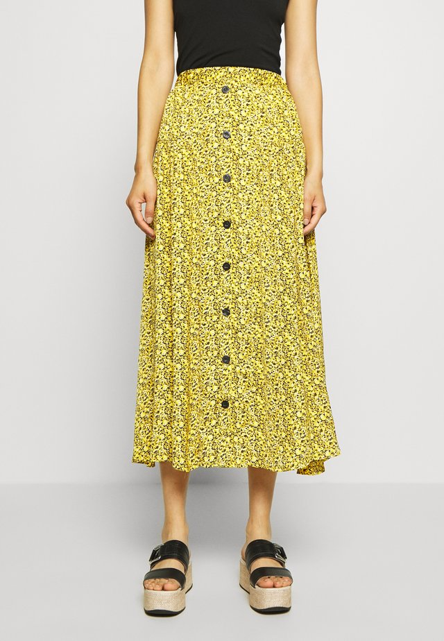 THALLOGZ SKIRT  - Jupe trapèze - yellow
