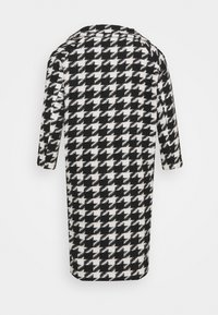 Simply Be - DOGTOOTH COAT - Classic coat - black/white - 1