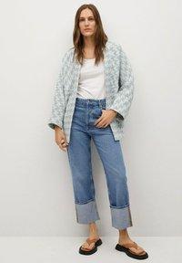 Mango - KIM - Summer jacket - himmelblau - 1