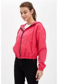 DeFacto - DEFACTO WOMAN LIGHT PINK - Zip-up hoodie - pink - 2