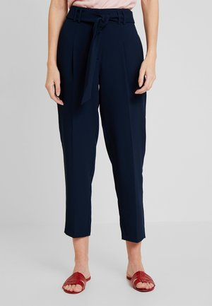 FLORE  - Trousers - bleu marine