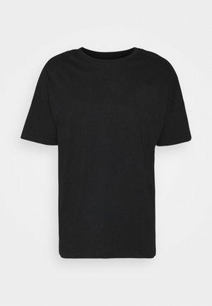 CONNER TEE UNISEX - Jednoduché triko - black