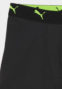 Puma - BOYS ALPHA PRINT BOXER 2 PACK - Pants - black combo - 4