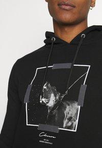 CLOSURE London - DOBERMAN HOODY - Sweatshirt - black - 4