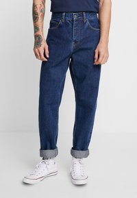 Carhartt WIP - NEWEL PANT MAITLAND - Jeans Relaxed Fit - blue stone washed - 0