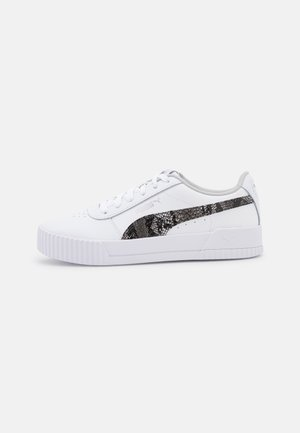 CARINA - Trainers - white/gray violet/silver