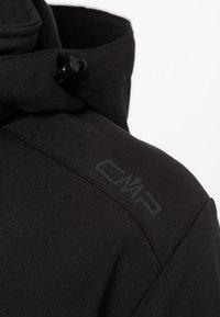 CMP - WOMAN ZIP HOOD - Soft shell jacket - nero - 5