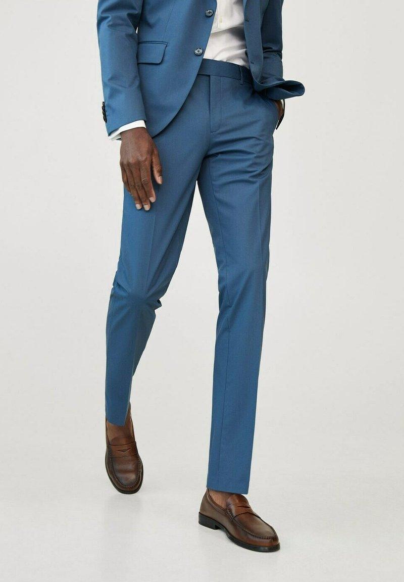 Mango - Pantalon de costume - sky blue