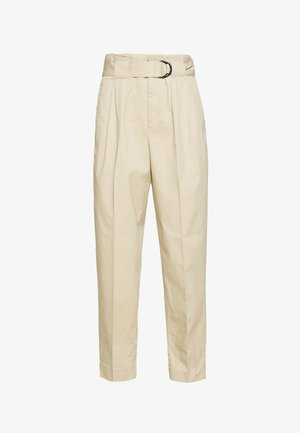 TAPER PANT DELICIOUS SOLIDS - Trousers - stinson sand
