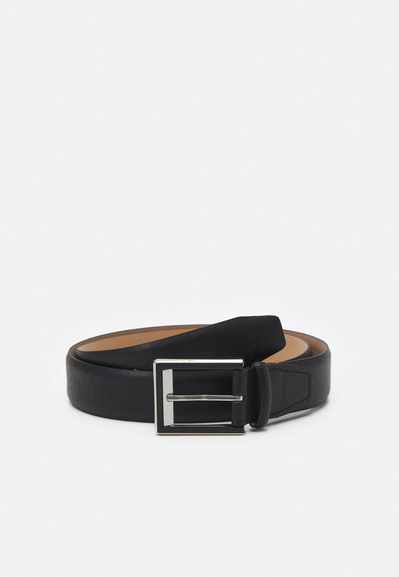 Calvin Klein - TWO STEP MONO - Belt - black