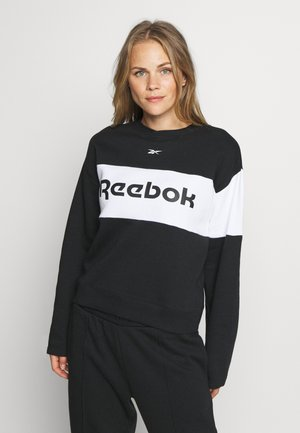 LINEAR LOGO CREW SET - Chándal - black