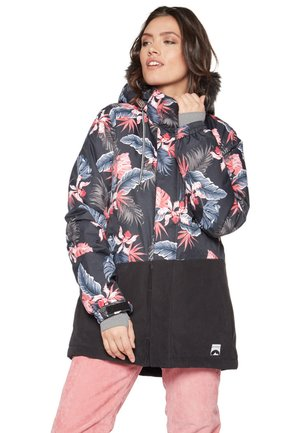 MIXEDUP - Snowboard jacket - mottled dark blue