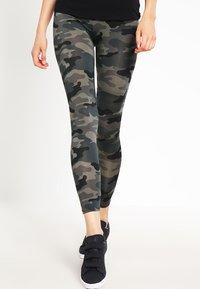 Urban Classics - Leggings - Trousers - grey - 0