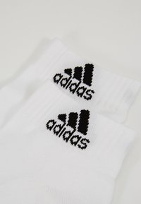 adidas Performance - CUSH ANK 3 PACK - Sports socks - white - 2
