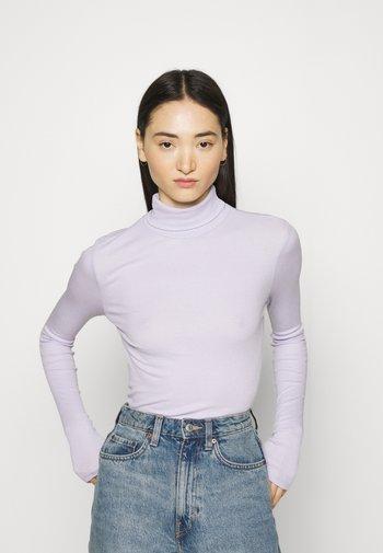 PCBIRDIE T NECK - Topper langermet - purple heather
