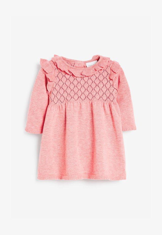 Strickkleid - pink